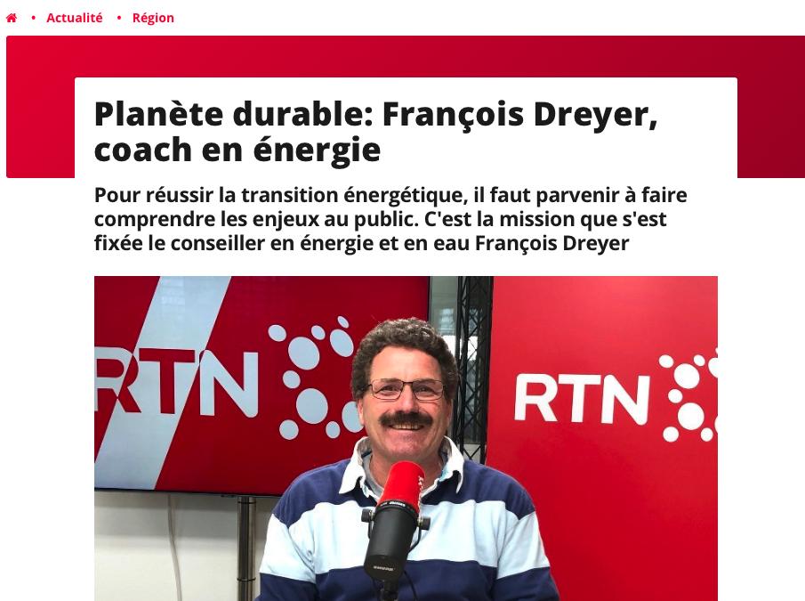 RTN Planète durable dans la matinale